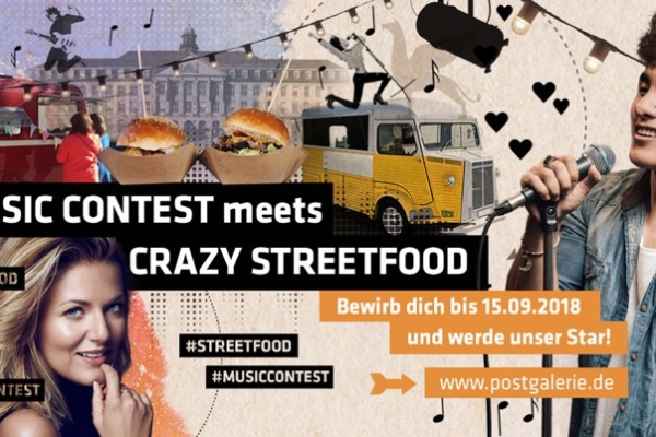 Banner Music Contest & Street Food